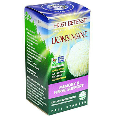 Lion's Mane Capsules, Memory & Nerve Support Review