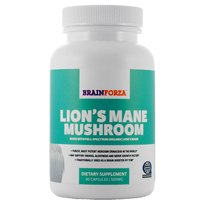 Brain Forza Lion's Mane Mushroom Review