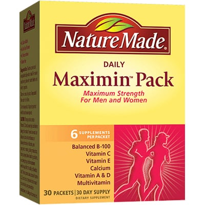 Nature Made Maximin Pack Review
