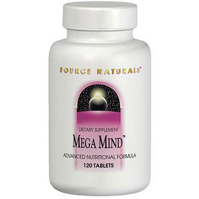Mega Mind Source Naturals
