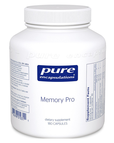 Pure Encapsulations Memory Pro Review