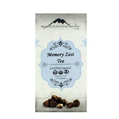 Mountain Rose Herbs Memory Zest Tea Review