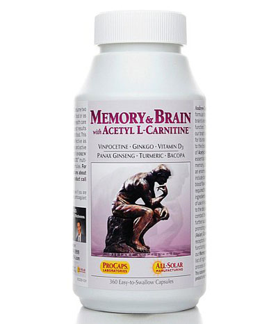 Memory and Brain with Acetyl L-Carnitine Review