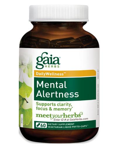 Gaia Herbs Mental Alertness Review