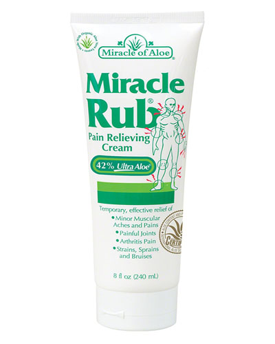 Miracle of Aloe Miracle Rub Review