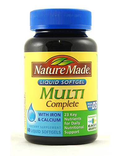 Nature Made Multi Complete Review