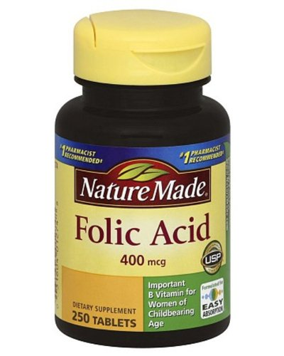 Nature Made Folic Acid Review