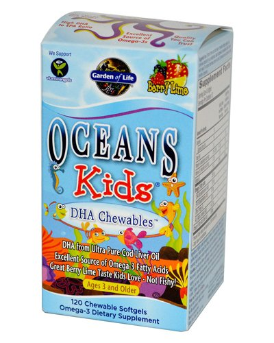 Oceans Kids DHA Chewables Review