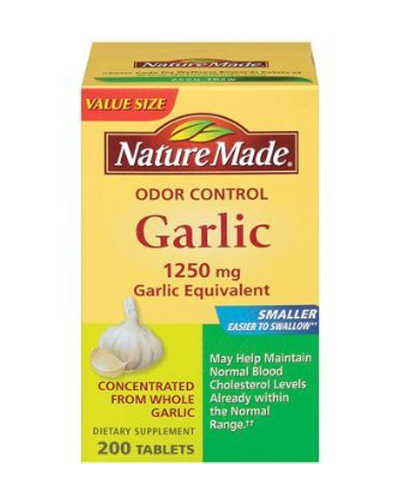 Nature Made Odor Controlled Garlic Review
