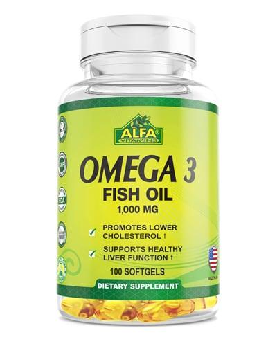 Alfa Vitamins Omega-3 Review