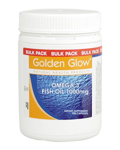 Golden Glow Omega-3 Fish Oil Review