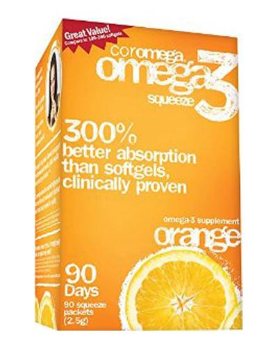 Coromega Omega 3 Squeeze Review