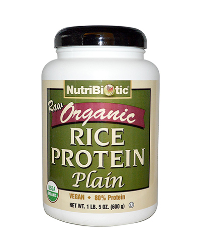 Nutribiotic Organic Rice Protein Plain Review