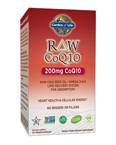 Raw CoQ10 Review
