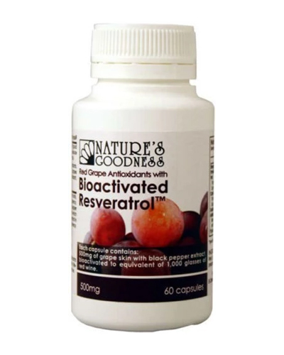 Nature's Goodness Red Grape Antioxidants with Resveratrol Review