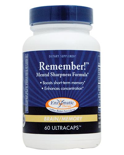 Remember Mental Sharpness Formula Review