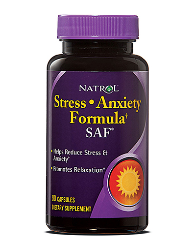 Natrol SAF Stress Anxiety Formula Review
