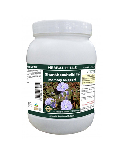 Herbal Hills Shankhapushpi Review