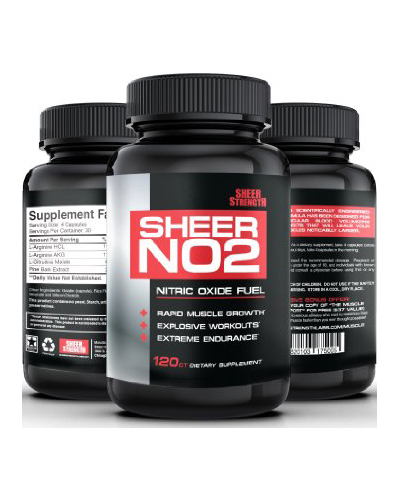Sheer Strength Labs Nitric Oxide (NO2) Review