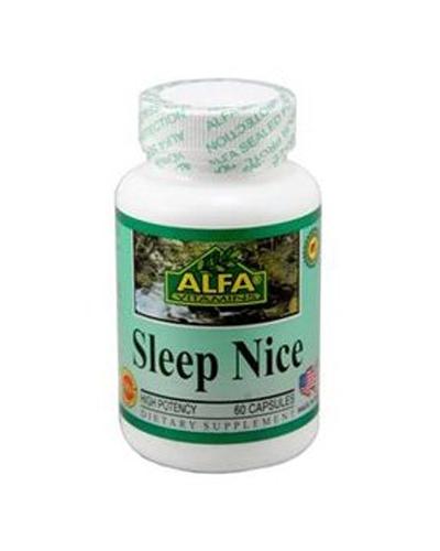 Alfa Vitamins Sleep Nice Review