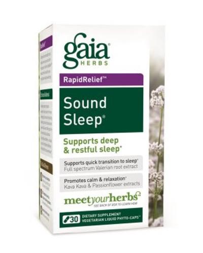 Gaia Herbs Sound Sleep Review