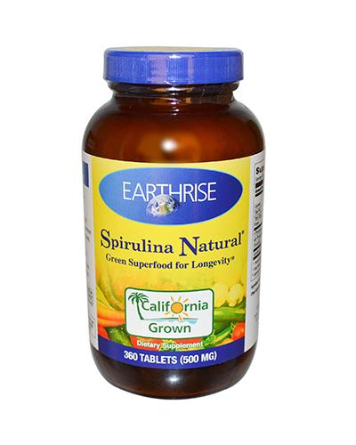 Earthrise Spirulina Natural Review