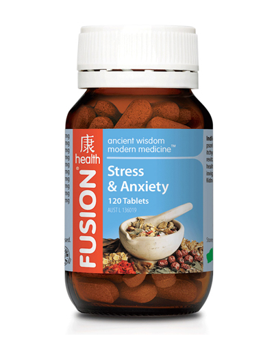 Fusion Health Stress and Anxiety Review