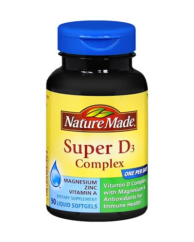 Nature Made Super D3 Complex