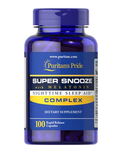 Puritan's Pride Super Snooze with Melatonin Review