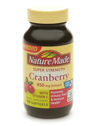 Nature Made Super Strength Cranberry