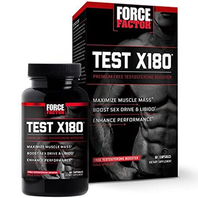 Force Factor Test X180 Review