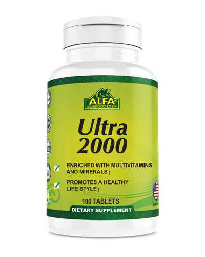 Alfa Vitamins Ultra 2000 Review