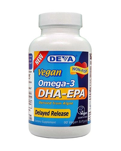 Vegan Omega-3 DHA-EPA Delayed Release Review