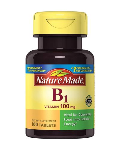 Nature Made Vitamin B-1 Review