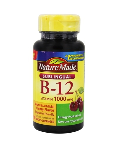 Nature Made Vitamin B-12 Sublingual Review