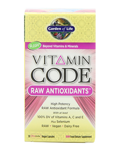 Vitamin Code Raw Antioxidants Review