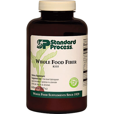 Standard Process Whole Food Fiber Review