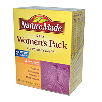Nature Made Women Pack Review