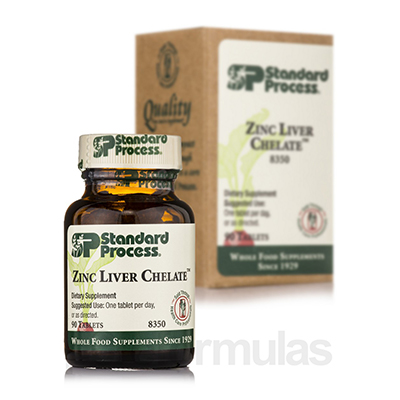 Standard Process Zinc Liver Chelate Review