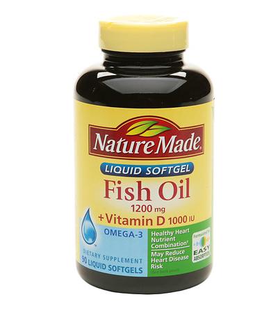 Fish Oil 1200mg Plus Vitamin D