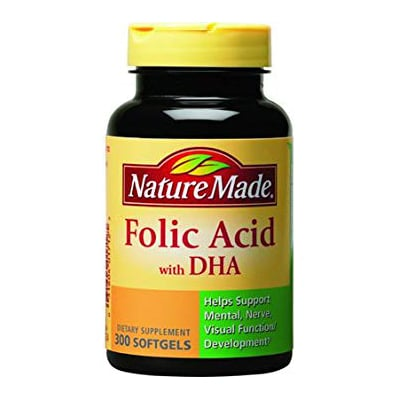 Folic Acid with DHA