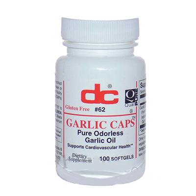 Dee Cee Labs Garlic Capsules