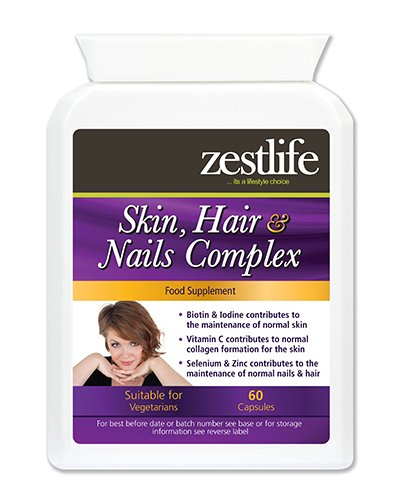 Zest for life Hair, Skin and Nail Review