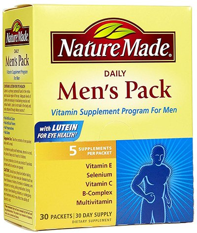 Nature Made Men's Pack Review