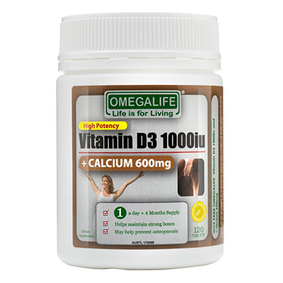 Omega Life Vitamin D3 Review