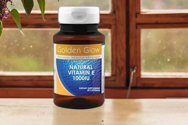 Golden Glow Natural Vitamin E